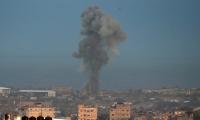 سلسلة غارات اسرائيلية على مواقع للمقاومة في قطاع غزة