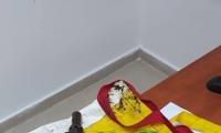 صور - العثور على بندقية كارل جوستاف مخبأة في ساحة العاب روضة اطفال بجسر الزرقاء
