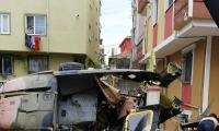 قتلى بسقوط مروحية عسكرية بحي سكني في إسطنبول