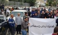 انطلاق مسيرة في قلنسوة احتجاجا على سياسة هدم البيوت