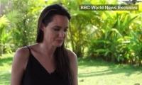 أنجلينا جولي تتحدث للمرة الأولى عن إنفصالها وتحبس دموعها