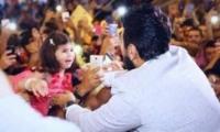 صورة - تامر حسني ينقذ طفلة أردنية ما القصة؟