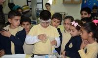 يوم العلوم والتكنولوجيا في مدرسه القدس الابتدائيه