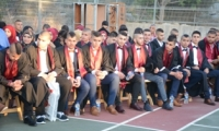 مدرسة يمه الثانوية تحتفل بتخريج الفوج الـ 44 من طلابها