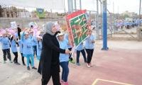 اليوم الرياضي السنوي في مدرسة بير السكة الابتدائية