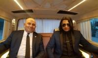السفير والنجم العالمي معالي كلار، يطلق الباخره الاخيره من اسطنبول