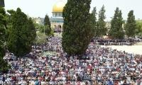 200 الف مصل في الجمعة الثانية من شهر رمضان المبارك في المسجد الاقصى