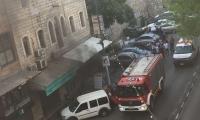 الناصرة: اندلاع حريق هائل في مطعم ومحل لبيع الاسماك