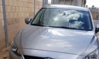 ضبط سيارة مسروقة في الضفة الغربية يقودها شرطي