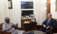 نتنياهو يجتمع مع رئيس تشاد إدريس ديبي في القدس