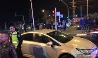 شرطي يطلق النار بالهواء بعد الاعتداء عليه على مفرق عرعرة