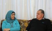 بعد نجاح عملية زراعة الاعضاء لها: السيّدة بادرة سمارة من الناصرة توّقع على بطاقة آدي