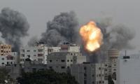 طائرات حربية إسرائيلية تشن سلسلة غارات على مناطق مختلفة في قطاع غزة بصواريخ تدميرية