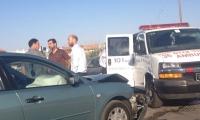 إصابة طفلين بحادث