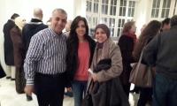 الاحتفال بافتتاح معرض استعادي للفنان الفحماوي المرحوم عاصم ابو شقرة في تل ابيب