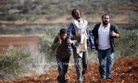 شاهد بالفيديو : لحظات احتجاز 18 مستوطن في نابلس واشباعهم ضرباً
