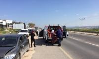 حادث طرق بالقرب من مدخل جت واصابة شابة من باقة الغربية
