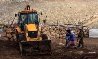 الاحتلال يصادر 80 دونما في نابلس لأغراض عسكرية