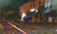 باقة الغربية: القاء قنبلة  من نوع ثقيل على صالون سميرة والشرطة تحقق صالون