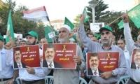 مشاركة واسعة في المظاهرة القطرية للحركة الإسلامية تضامنا مع الشعب المصري