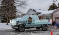 رقم قياسى عالمى لشاحنة مصنوعة من الثلج