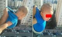شخص يغامر بحياة طفل من أجل صور تحبس الأنفاس