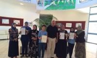 طلاّب مدرسة النّهضة الاعداديّة ,  يبدعون في مسابقة اللّغة العـربيّة القطريّـة في - ام  الفحم
