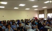 حلقة نقاش حول التبرع بالأعضاء البشرية في مدرسة بستان المرج، نين
