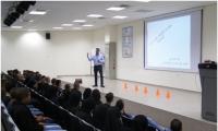 محاضرة حول نتائج تعاطي المخدرات في مدرسة العلوم والهندسة اورط اللد