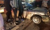 البعنة: إصابة 3 أشخاص بجراح متفاوتة في حادث طرق