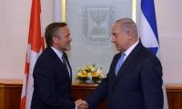 نتنياهو يشكو الفلسطينيين لوزير خارجية الدانمارك!