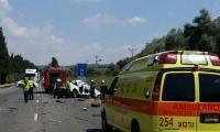 مصرع سائق بحادث طرق بين شاحنة وسيارة قرب العفولة