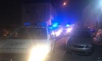 ليلة عنيفة بمدينة ام الفحم واحراق سيارتين
