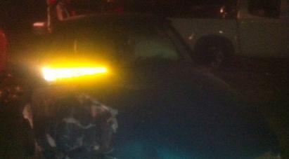 حادث طرق قرب مدخل جت الشمالي يسفر عن 4 اصابات متفاوتة